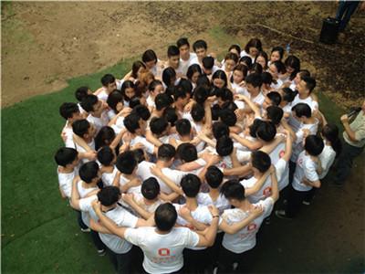 深圳企业20人海边团建管理层拓展培训1天